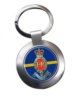 3rd Regiment Royal Horse Artillery (British Army)  Chrome Key Ring