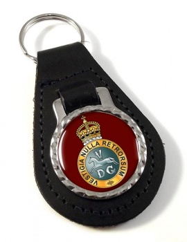 5th Regiment of Dragoons (British Army) Leather Key Fob