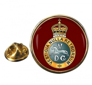 5th Regiment of Dragoons (British Army) Round Pin Badge