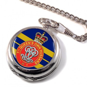 7th Queen's Own Hussars Pocket Watch