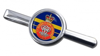 7th Queen's Own Hussars Round Tie Clip