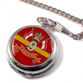 9th Queen's Royal Lancers (British Army) Pocket Watch