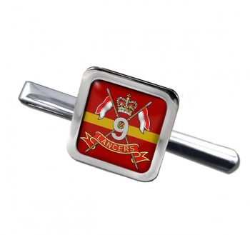 9th Queen's Royal Lancers (British Army) Square Tie Clip
