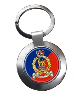 Adjutant General's Corps (British Army) Chrome Key Ring