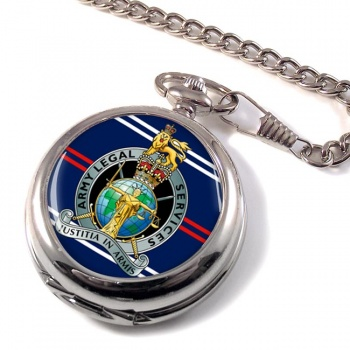 Army Legal Services (British Army) Pocket Watch