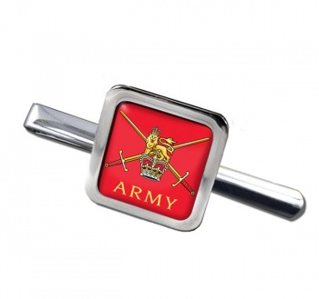 British Army Square Tie Clip