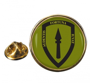 Allied Rapid Reaction Corps (British Army) Round Pin Badge