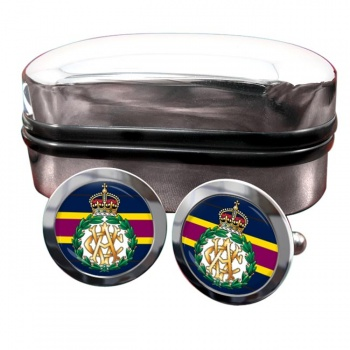 Army Veterinary Corps (British Army) Round Cufflinks