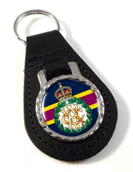 Army Veterinary Corps (British Army) Leather Key Fob