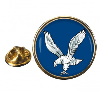 Blue Eagles (British Army) Round Pin Badge