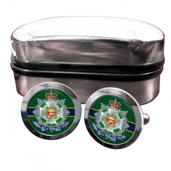 Border Regiment Round Cufflinks