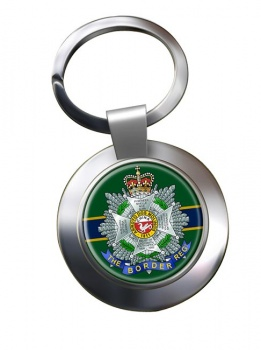 Border Regiment Chrome Key Ring