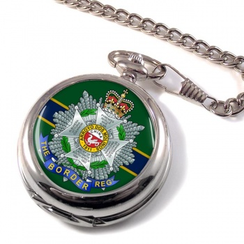 Border Regiment Pocket Watch
