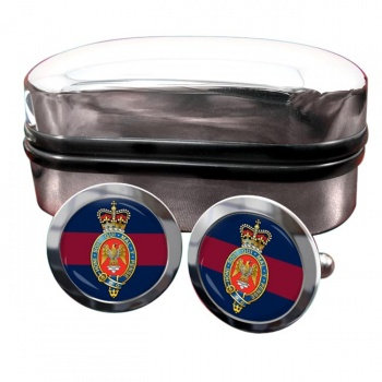 Blues and Royals (British Army) Round Cufflinks
