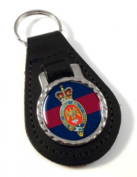 Blues and Royals (British Army) Leather Key Fob