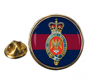 Blues and Royals (British Army) Round Pin Badge