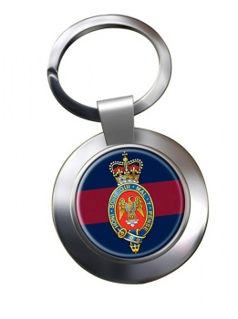 Blues and Royals (British Army) Chrome Key Ring