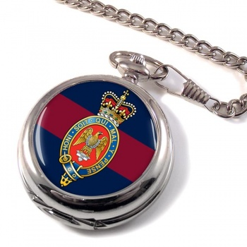 Blues and Royals (British Army) Pocket Watch