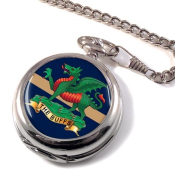The Buffs (Royal East Kent Regiment) British Army Pocket Watch