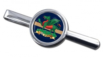 The Buffs (Royal East Kent Regiment) British Army Round Tie Clip