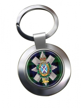 Black Watch (42nd (Royal Highland) Regiment of Foot)  Chrome Key Ring