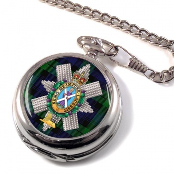 Black Watch (42nd (Royal Highland) Regiment of Foot)  Pocket Watch