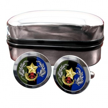 Cameronians (Scottish Rifles (British Army)) Round Cufflinks