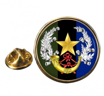 Cameronians (Scottish Rifles (British Army)) Round Pin Badge