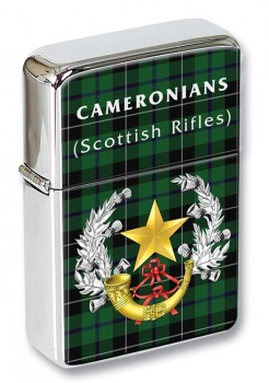 Cameronians (Scottish Rifles (British Army)) Flip Top Lighter