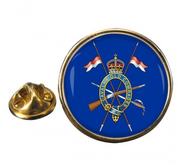Combined Cavalry Old Comrades Association Round Pin Badge