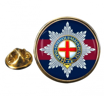 Coldstream Guards (British Army)  Round Pin Badge