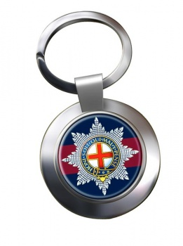 Coldstream Guards (British Army)  Chrome Key Ring