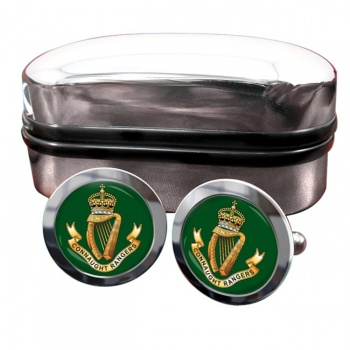 Connaught Rangers (British Army) Round Cufflinks