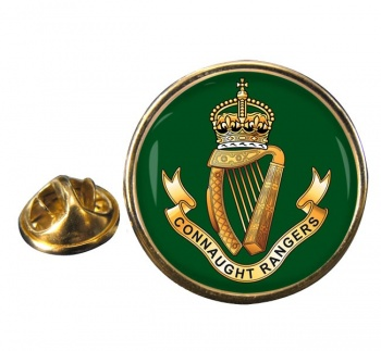 Connaught Rangers (British Army) Round Pin Badge