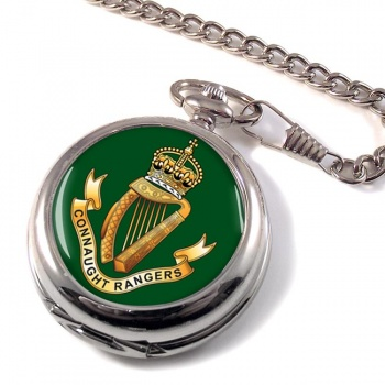 Connaught Rangers (British Army) Pocket Watch