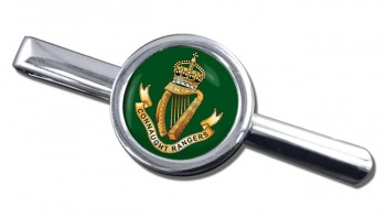 Connaught Rangers (British Army) Round Tie Clip