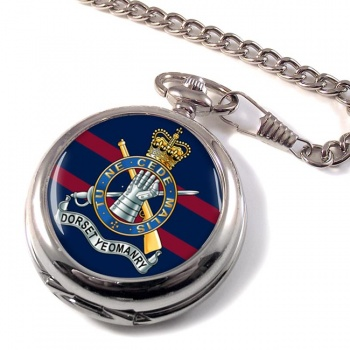Dorset Yeomanry (British Army) Pocket Watch