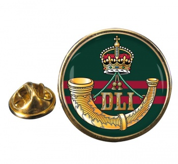 Durham Light Infantry (British Army) Round Pin Badge