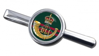 Durham Light Infantry (British Army) Round Tie Clip