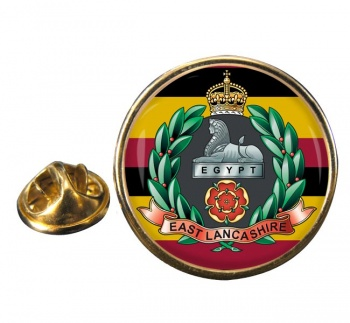 East Lancashire Regiment (British Army) Round Pin Badge