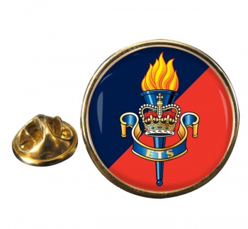 Education and Training Services (British Army) Round Pin Badge