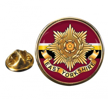 East Yorkshire Regiment (British Army) Round Pin Badge