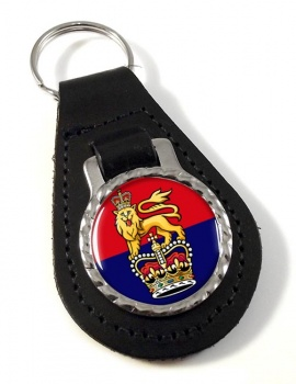 General Staff (British Army) Leather Key Fob