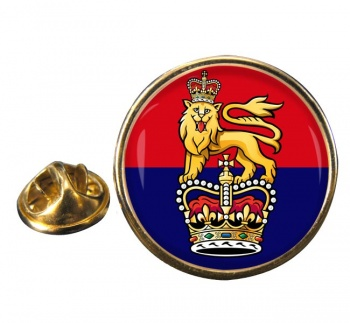 General Staff (British Army) Round Pin Badge