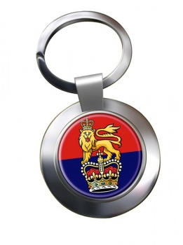 General Staff (British Army) Chrome Key Ring