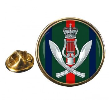 Gurkha Band (British Army) Round Pin Badge