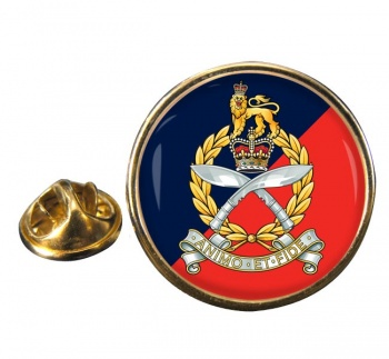 Gurkha Staff and Personnel Support Branch Round Pin Badge