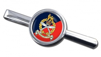 Gurkha Staff and Personnel Support Branch Round Tie Clip