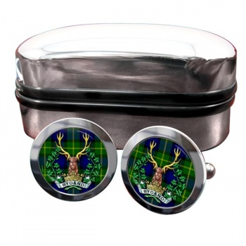 Gordon Highlanders (British Army) Round Cufflinks