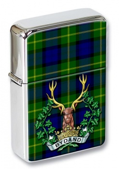 Gordon Highlanders (British Army) Flip Top Lighter